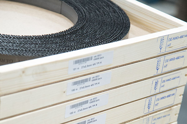 Band saw blades for Armade, Behringer and Casto